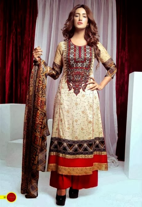 Star Printed Chiffon Lawn Collection