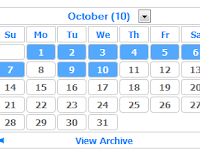 Cara Merubah Widget Archive Blogger Menjadi Kalender