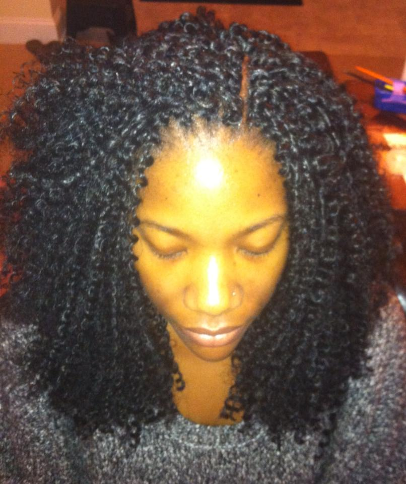 Crochet Hair Kinky Straight : Protective Style: Crochet Braids - Organized Beauty