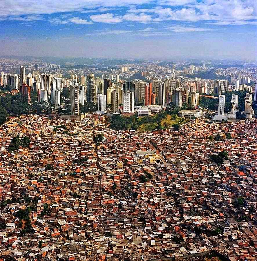 Sao Paolo - worst city to live in ranked 8th
