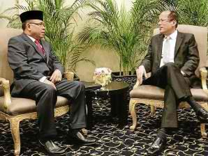 president noynoy pnoy aquino meeting milf japan
