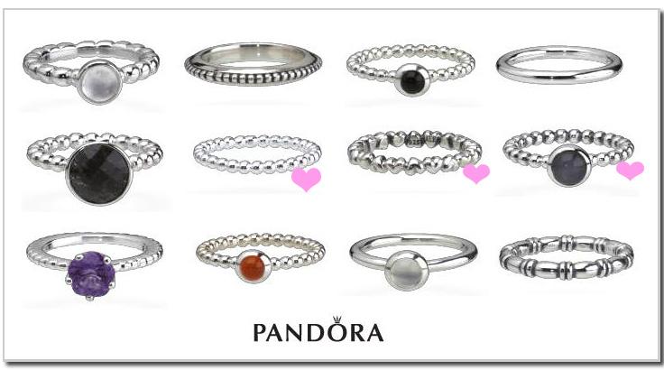 anillos de pandora baratos