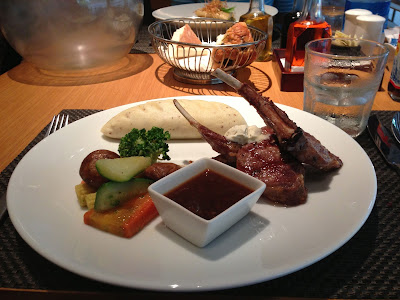 Lamb Chops at Bistro Pune