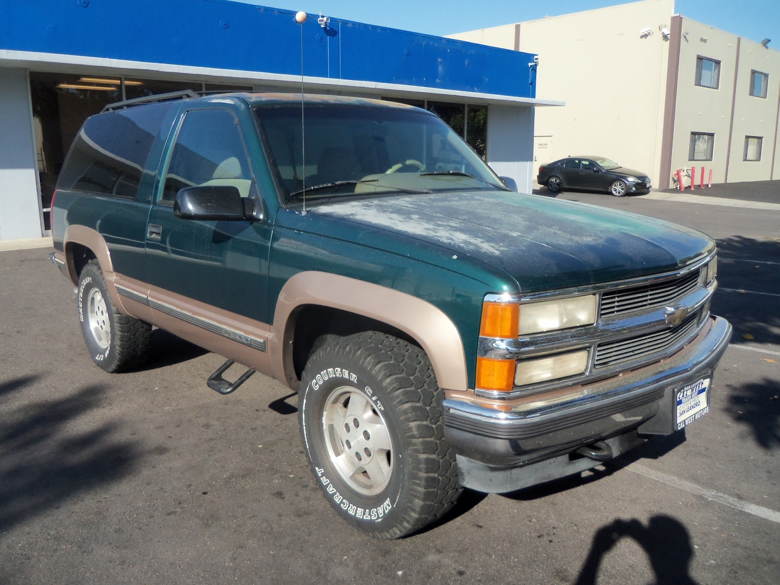 Chevy Tahoe Paint Job Cost