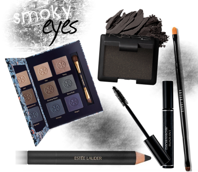 Easy steps for smoky eyes