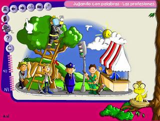 http://www3.gobiernodecanarias.org/medusa/contenidosdigitales/programasflash/Medusa/JugandoPalabras/profesiones/jugandoconpalabras.html