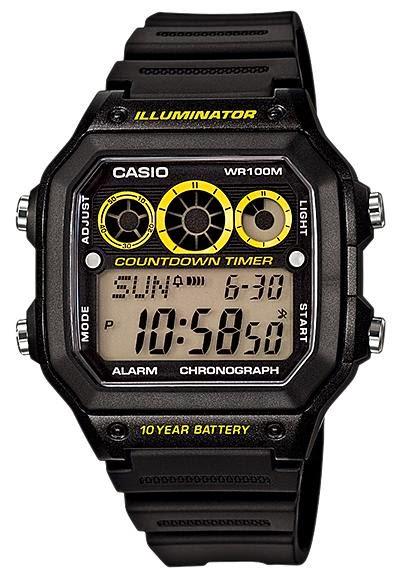 Jam Tangan Pria CASIO AE-1300WH-1AV