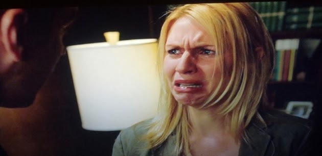 Carrie Mathison Cry Face