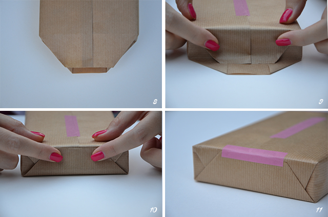 5 trikov, ako zabali darek ak hokovek tvaru