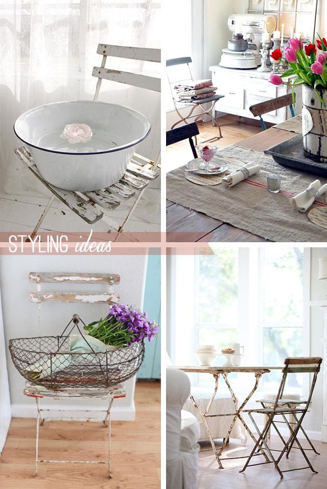 Arredare Vintage: le sedie in stile bistrot francese - Home Shabby ...