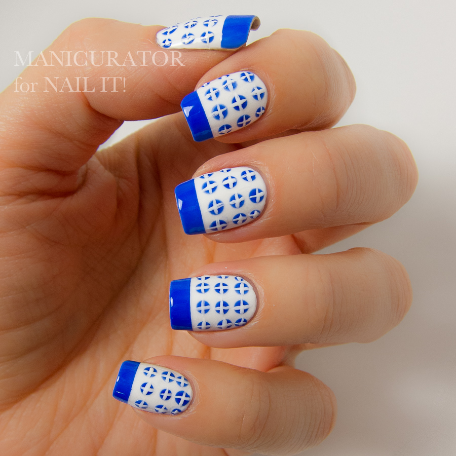 manicurator: Nail Art Design tutorial for Nail It! Magazine with OPI ...