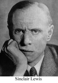 sinclair lewis a collection of critical essays