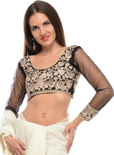 Embroidered Blouses Designs