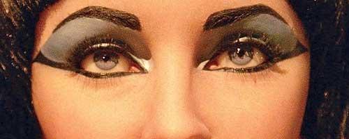 Curiosidades maquillaje : Primer delineador de la histora