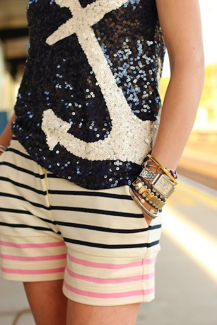 Beach Fashion - Crazy about Anchors