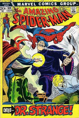 Amazing Spider-Man #109, Dr Strange