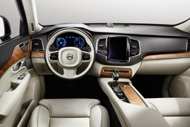 New Volvo XC90 2015 2016 dashboard