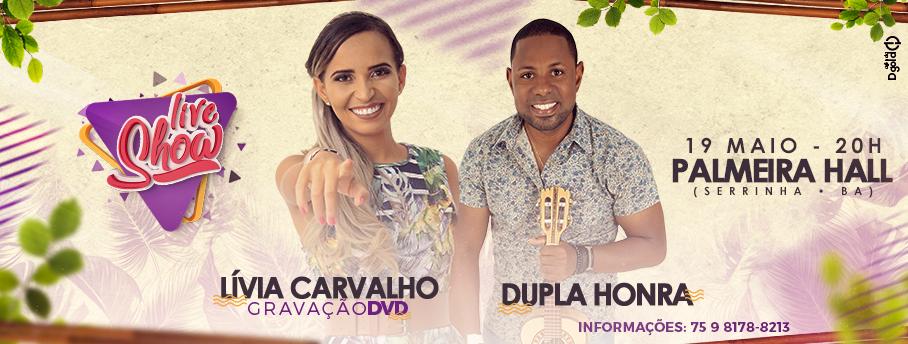 Gravação do DVD de Lívia Carvalho
