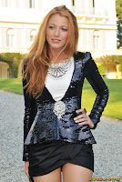 Blake Lively Chanel Collection Croisiere Show In Cap d'Antibes