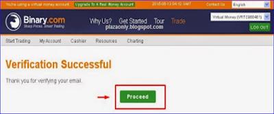 Cara Daftar Akun Trading Binary