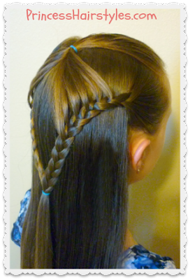 Fairy Wings Braid, Back To School #Hairstyles