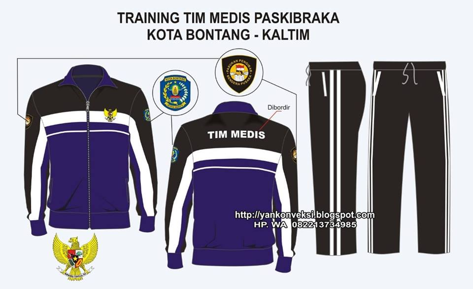 JAKET TIM MEDIS PASKIBRA