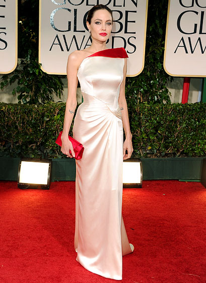 Angelina+Jolie+Land+Of+Blood+and+Honey%252C+Golden+Globes+ Atelier+Versace+gown