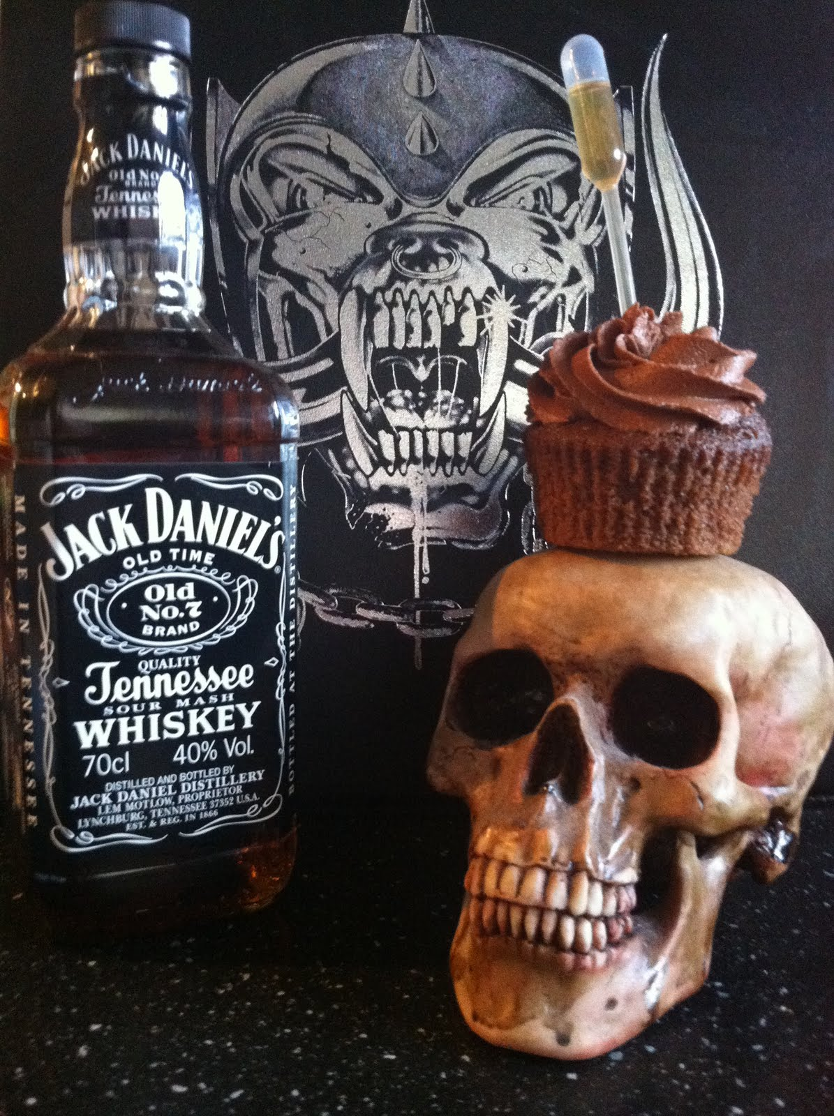 Jack And Coke Cupcakes With Cake Mix