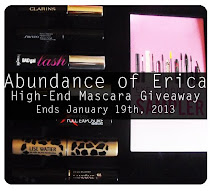 High-End Mascara GIVEAWAY!