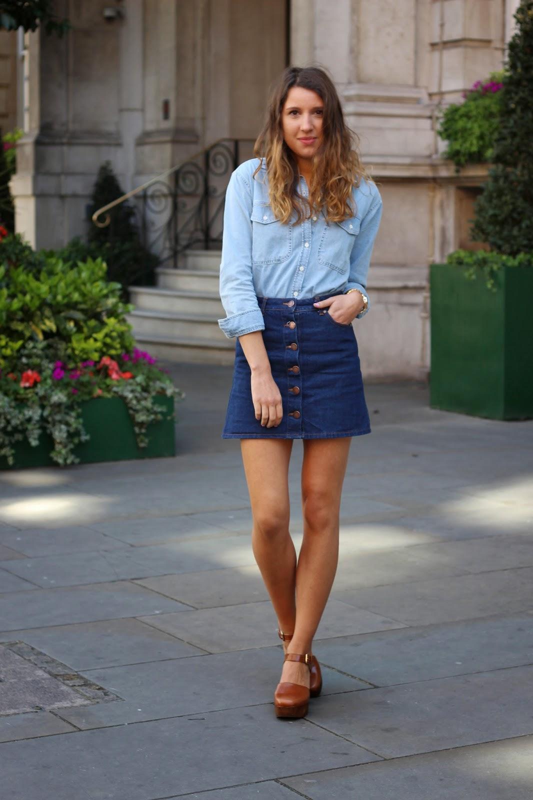 Double Denim | What's In Her Wardrobe