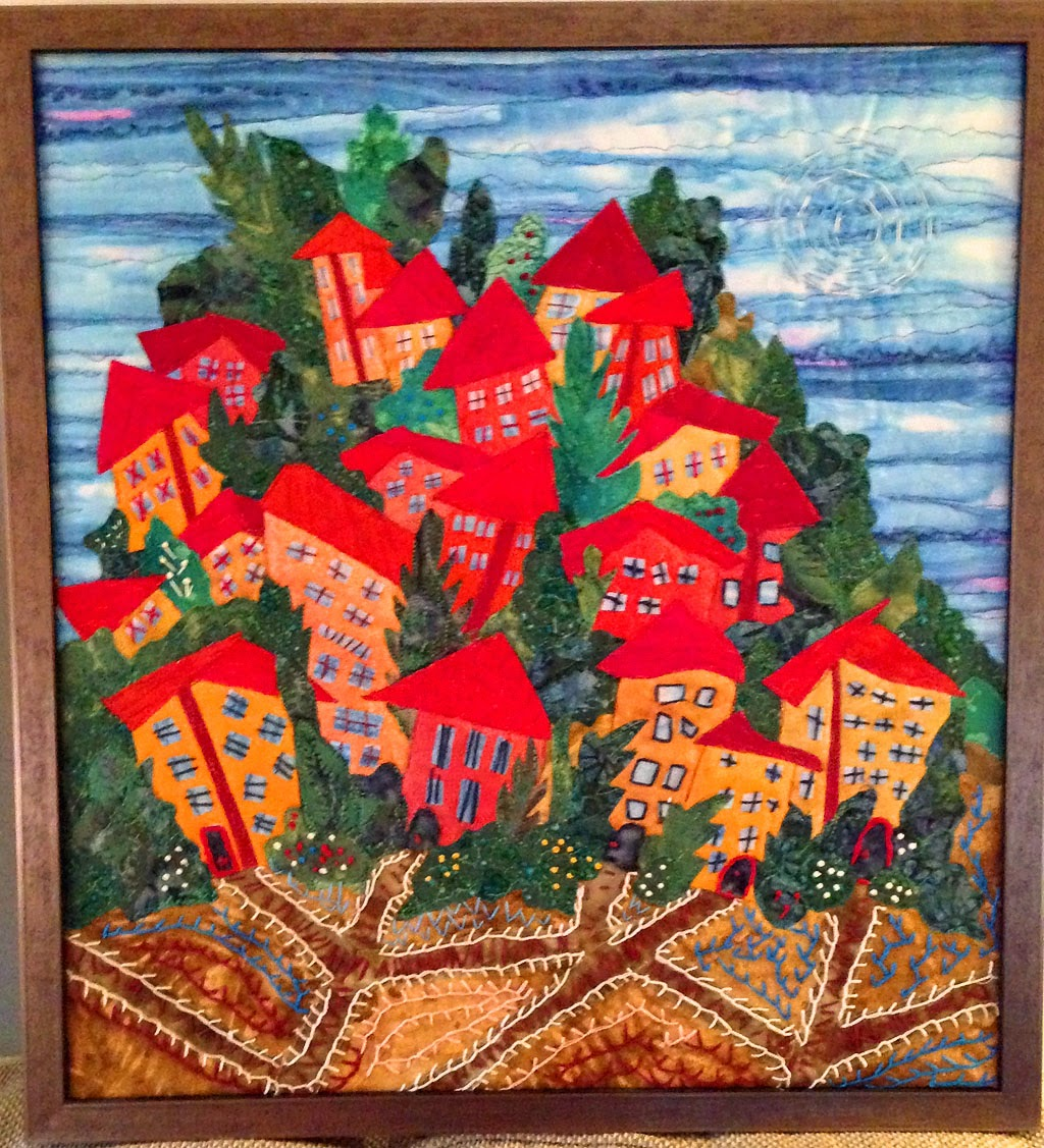 Are You The Cameraman?: Favorite Christmas gifts 2014: quilt art by ...