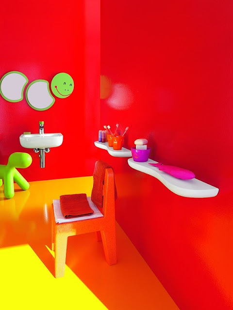 Colorful Kids Bathroom Ideas