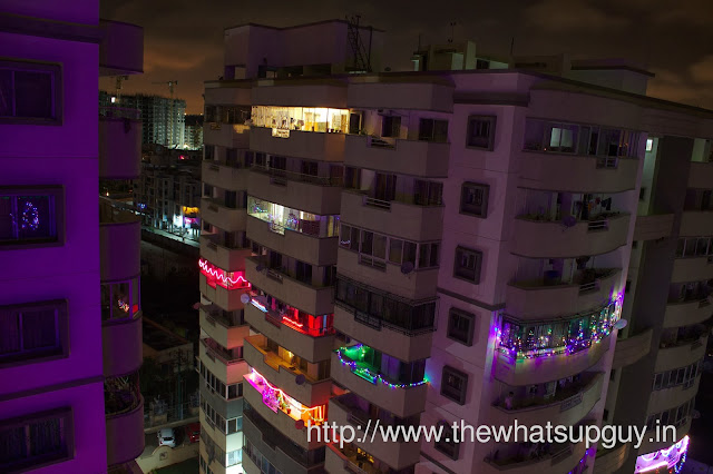 Diwali Decoration at Suncity Apartments Bangalore