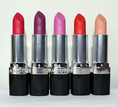 Avon Perfectly Matte Lipsticks