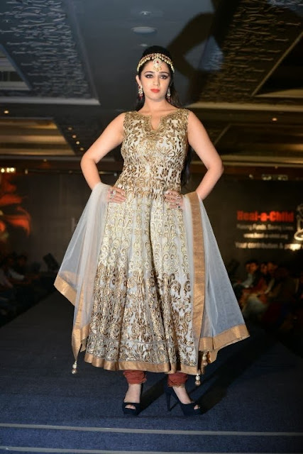 Cute Charmi Kaur Gorgeous Ramp Walk Images Collection