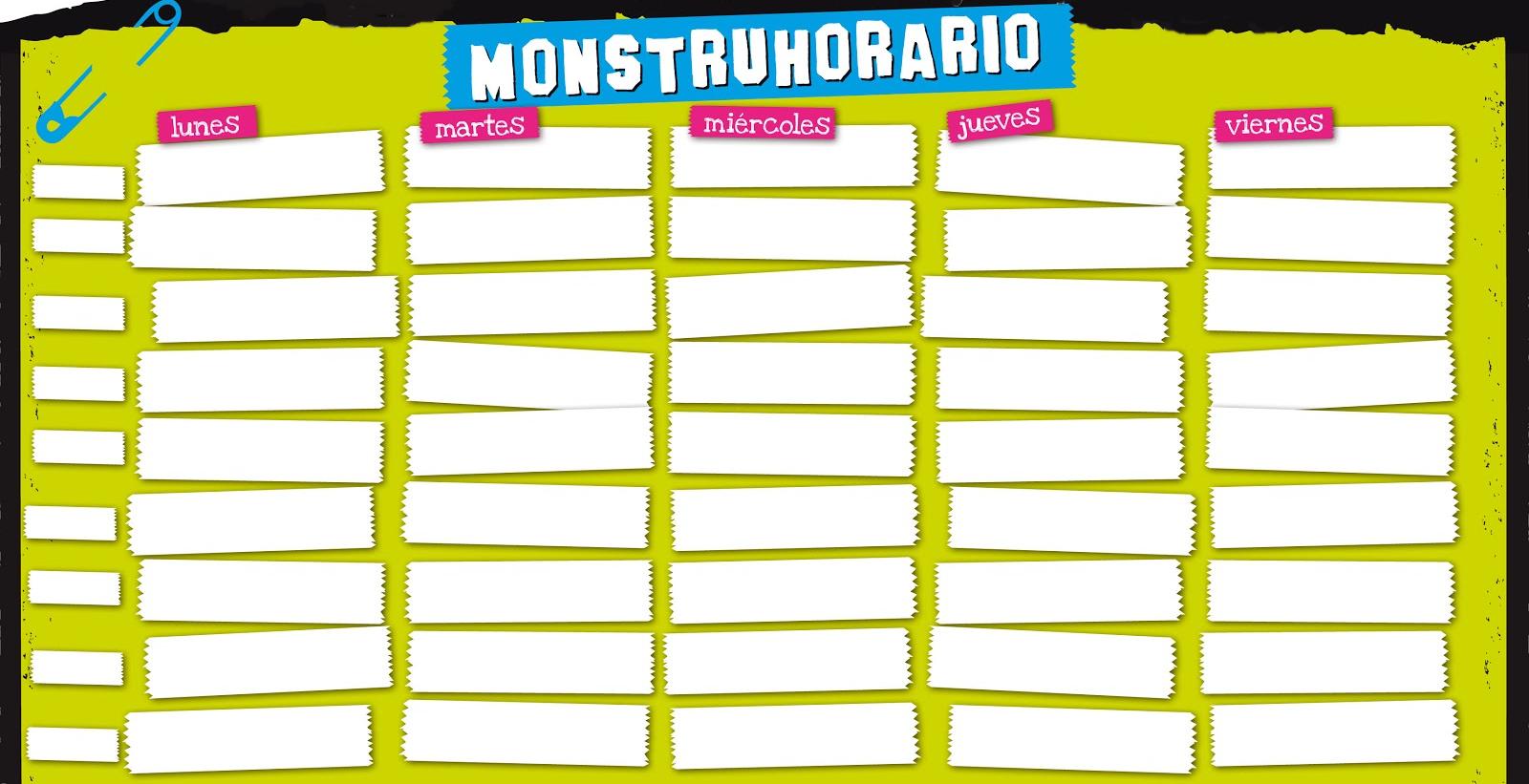 Monstruhorario