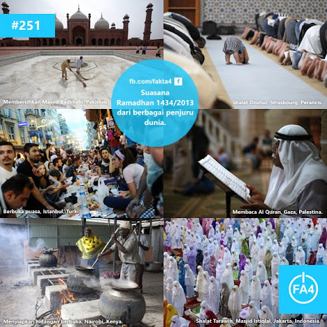 Suasana Ramadhan 2013