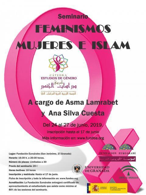 "SEMINARIO ""FEMINISMOS, MUJERES E ISLAM"". Granada."