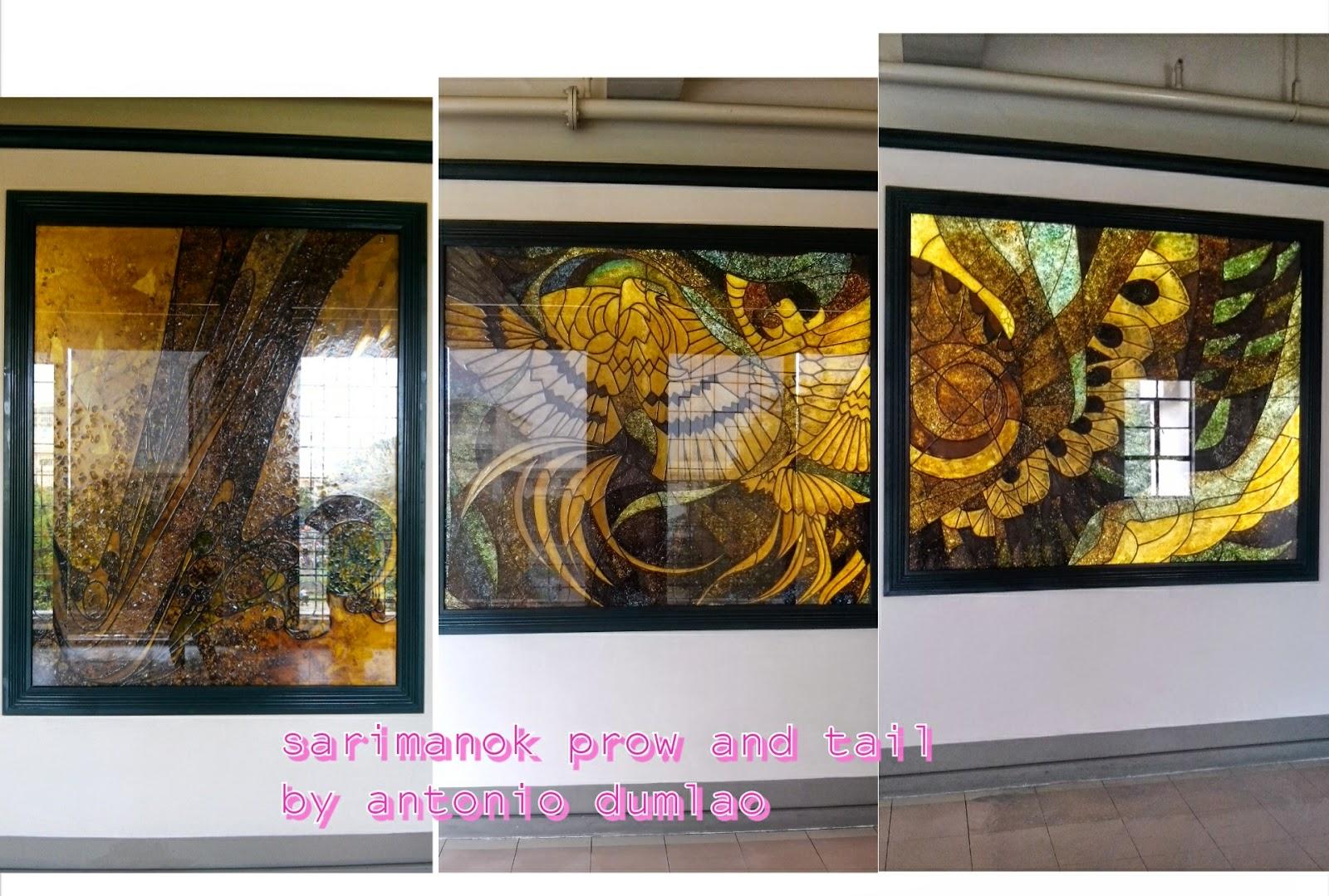 sarimanok prow and tail by antonio dumlao