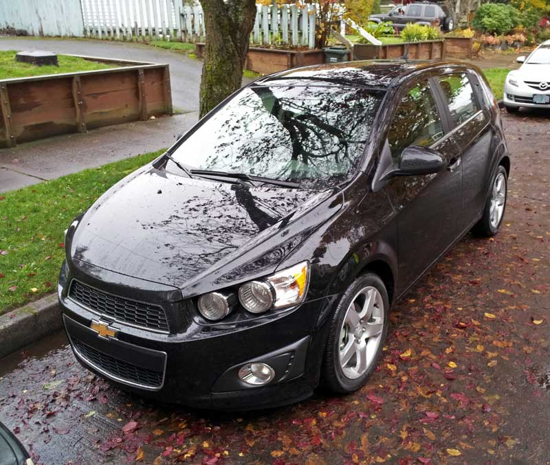 Small Hatchback Turbo Cars: Review: 2012 Chevrolet Sonic LTZ: A Great American Hot