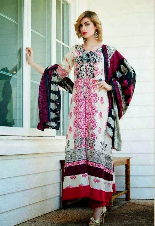 Riwaj Lawn Suits Dress