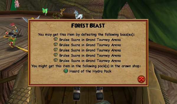 Wizard101 Grand Tourney Arena