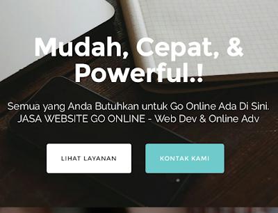 Bikin Website cuman 500rb'an