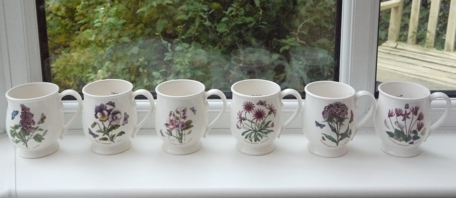 Kitch 39 N 39 Chic Portmeirion Botanic Garden Bristol Tankard Mugs X6 Sold Out