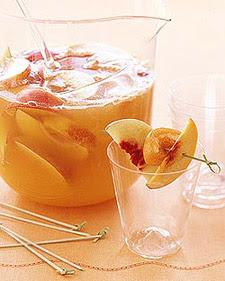 Peach Prosecco Sangria
