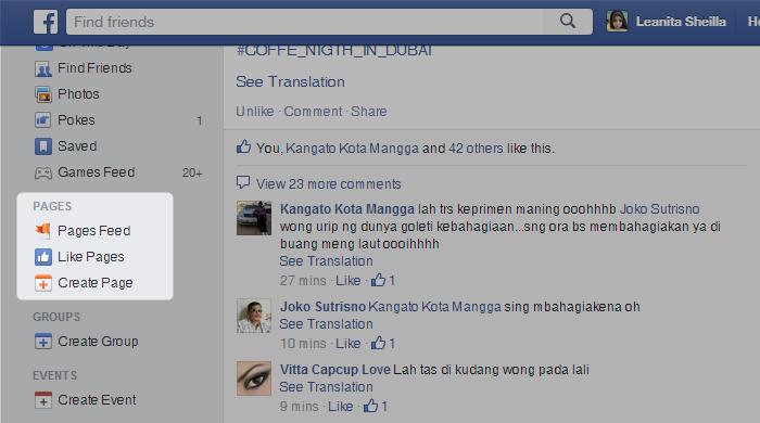 Cara Membuat Halaman Fans Page Facebook gambar 2