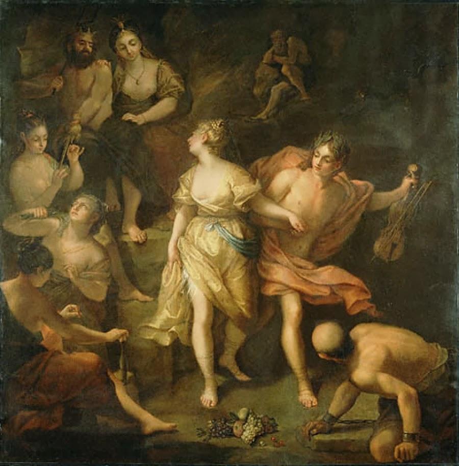 Resultado de imagen de El culto a Orfeo