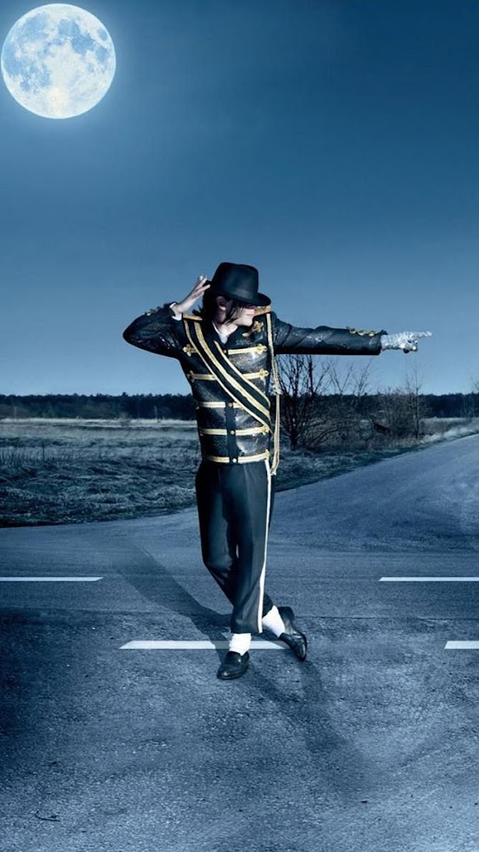Michael Jackson Night Road   Galaxy Note HD Wallpaper