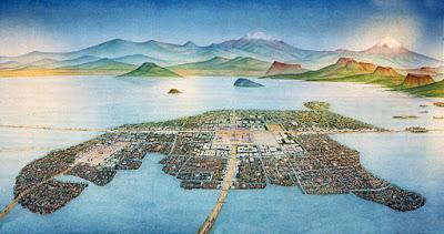 Vista de la Magna Ciudad de México-Tenochtitlan