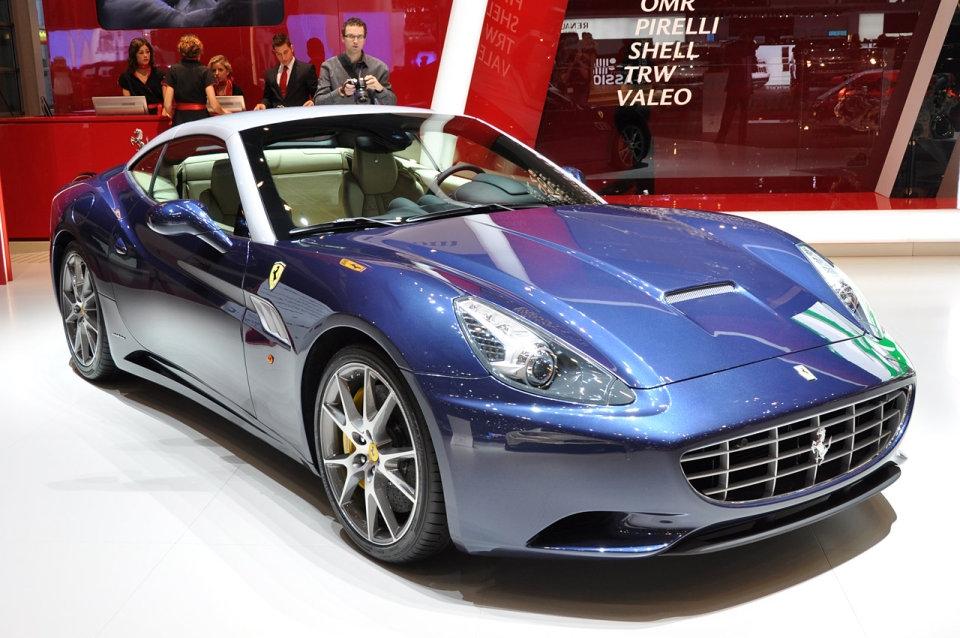 Ferrari: El nuevo Ferrari California modelo 2013